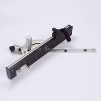 High Quality Miter Gauge And Box Joint Jig Kit With Adjustable Flip Stop Woodworking DIY Tools