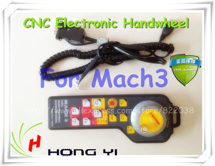 MACH3 CNC USB Electronic Handwheel Manual Controller MODBUS MPG For ModsMach3 цена