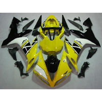 Injection Mold Fairing Bodywork Kit Fit For YAMAHA YZF R1 04 06 05 Yellow White