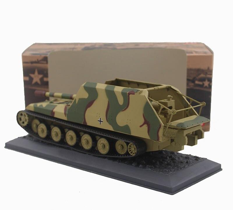 Oyuncaklar ve Hobi Ürünleri'ten Pres Döküm ve Oyuncak Araçlar'de Nadir Özel Teklif 1:43 1945 Alman Ordusu Tankı modeli Kaplan kürk 17cm K72 Alaşım bitmiş ürünler Koleksiyon model'da  Grup 3