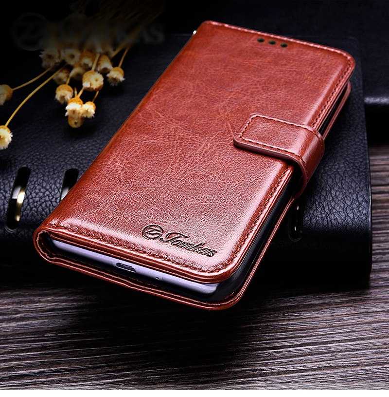 Business Case For Xiaomi Redmi 4A Cases Cover Flip Wallet Conque Case 5.0 Inch For Xiaomi Redmi 4A Cases Leather TOMKAS  (5)