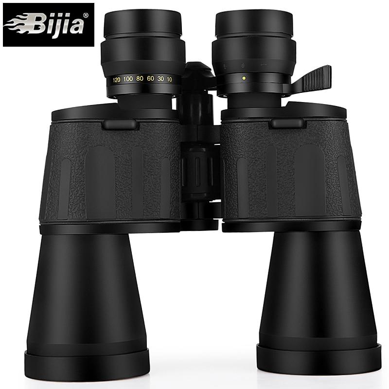 BIJIA 10-120X80 profesional zoom óptico caza binoculares de ángulo ancho de telescopio con interfaz de trípode - 3