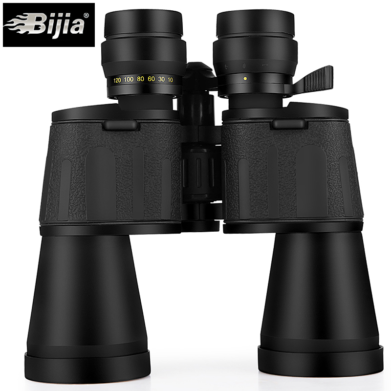 Image 3 - BIJIA 10 120X80 professional zoom optical hunting binoculars wide angle camping telescope with tripod interface-in Monocular/Binoculars from Sports & Entertainment