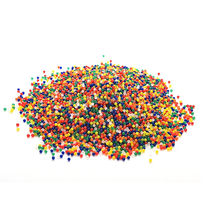 10000pcs colored orbeez soft crystal water paintball grow water beads grow balls for water outdoor toy home decration