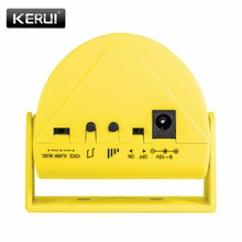 Chime Doorbell Motion-Detector-Alarm Store Welcome KERUI M5 for Home-Shop Usage 32-Songs