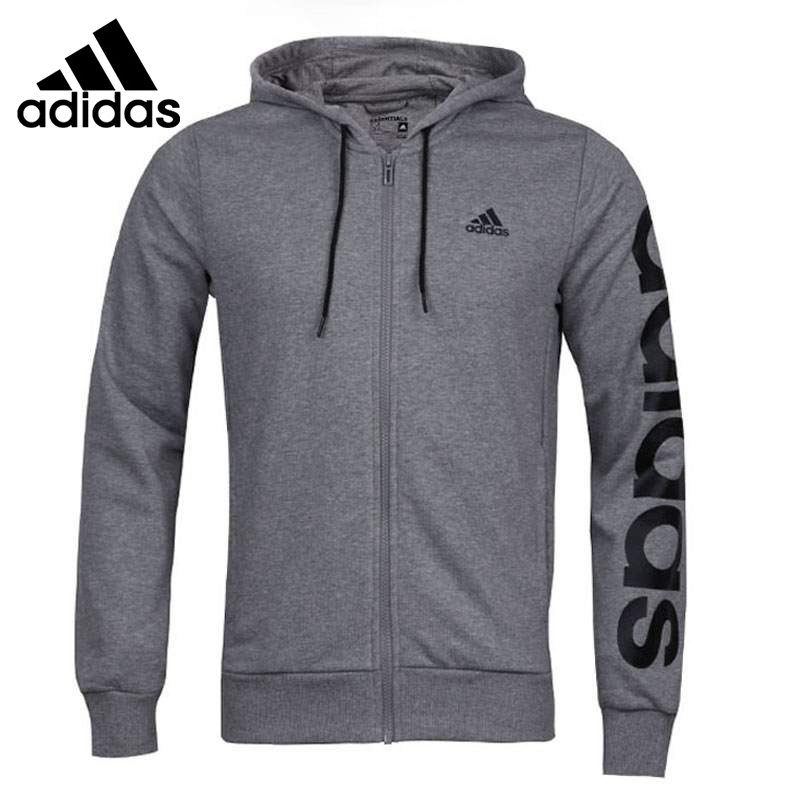 Original New Arrival  Adidas Lin Fz Hood Ft Men's jacket Hooded Sportswear original new arrival 2017 adidas wb lin lightwgt men s jacket hooded sportswear