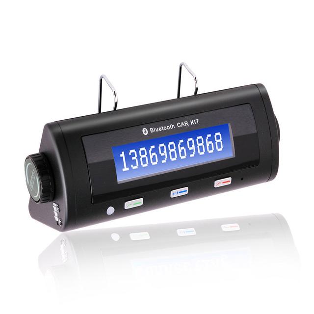 Portátil car handsfree sem fio bluetooth v2.1 erc speakerphone kit receptor com clip para iphone samsung htc bt8106