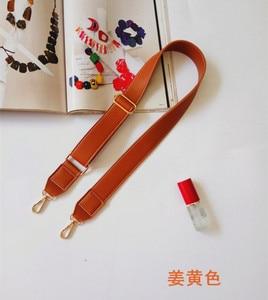 130cm Shoulder Bag Strap PU Leather Belt Adjustable Wide Strap Bag Accessories For Women Crossbody Handbag Replacement TAN