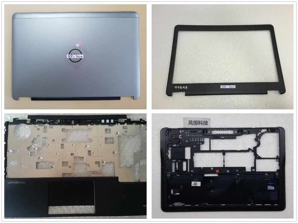 New Cover For DELL For Latitude E7240 Top LCD LID Back Cover/Front Bezel/Palmrest Upper/Bottom Case/hinges/LCD Cable
