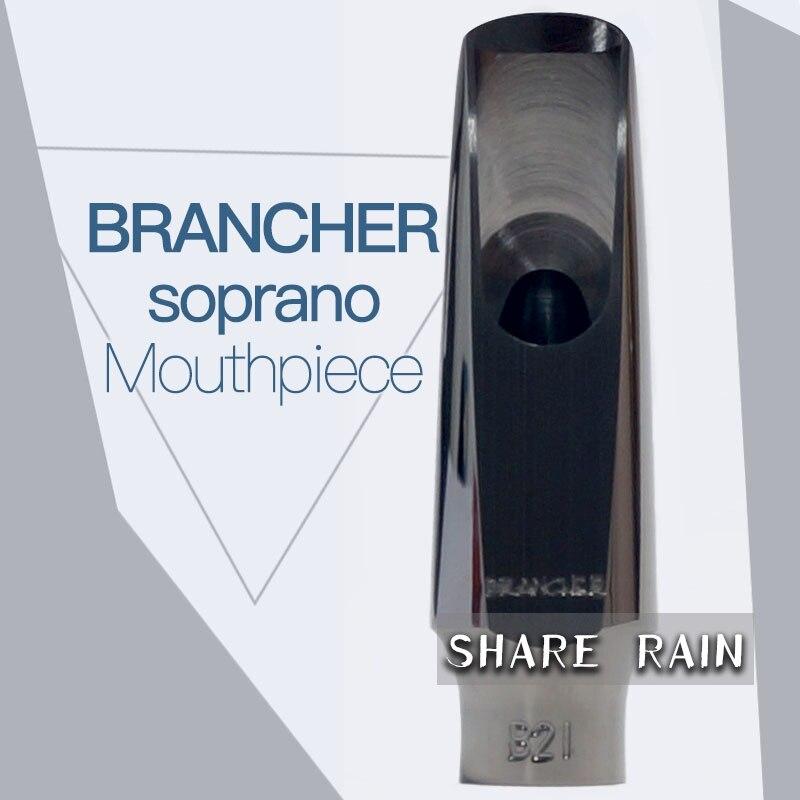 brancher soprano sax Black King Kong Metal Mouthpiece ligature Hat Complete set 10pcs black soprano sax cap and ligature fit for saxophone strap mouthpiece