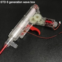 STD Six generation wave box CS018 electric water bomb gun 6 generation wave box toy accessories Outdoor shooting game NI11