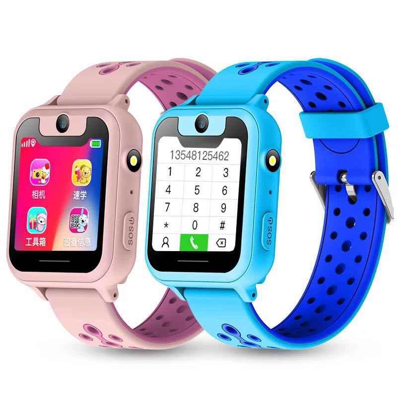 Kids Smart Watch Anak Smartwatch untuk Anak-anak SOS Call Location Finder Perangkat Kamera Locator Tracker Anti Hilang Monitor