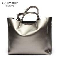 American Luxury Genuine Leather Women Shoulder Bag Fashion Brand Designer Cowhide Women Real Leather Women Bag