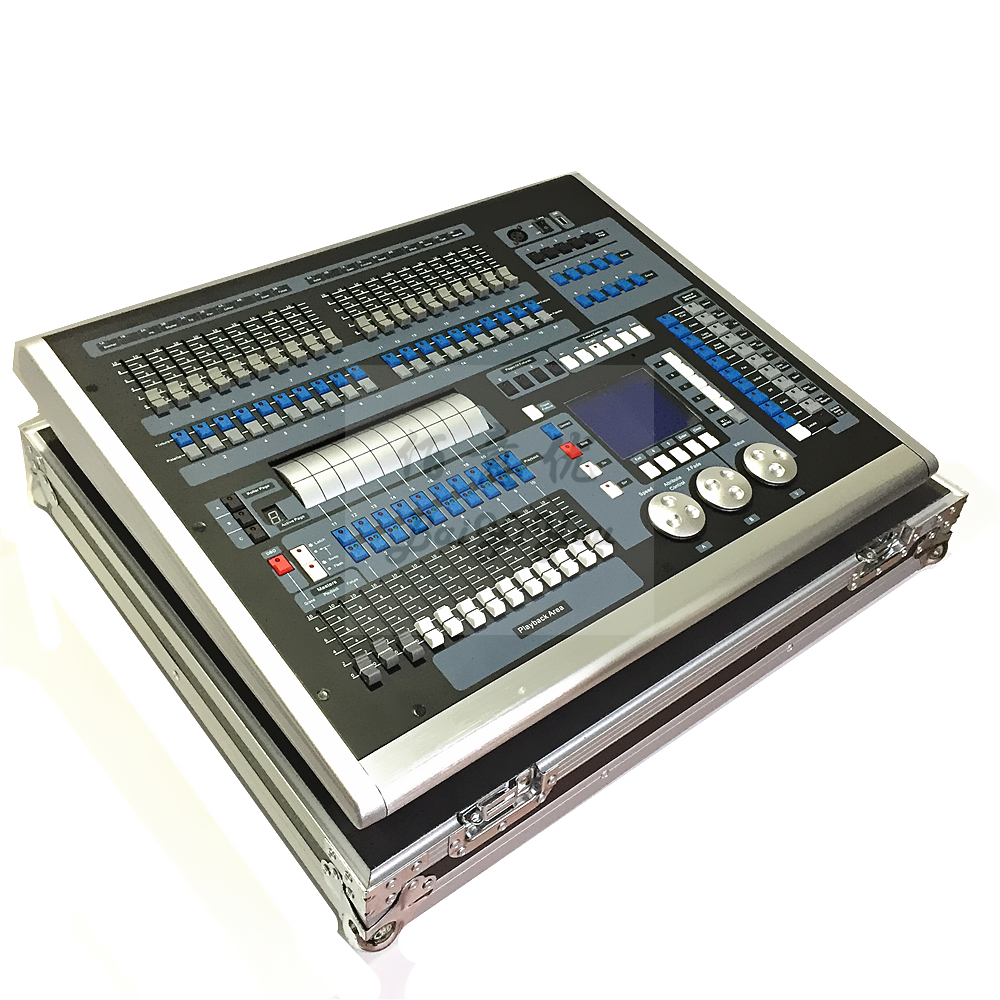 1pc/Lot DJ KingKong 1024P DMX Light Mixer Console Stage Light DMX512 King Kong 1024 Pro Controller With Flight Case-in Stage Lighting Effect from Lights & Lighting    2