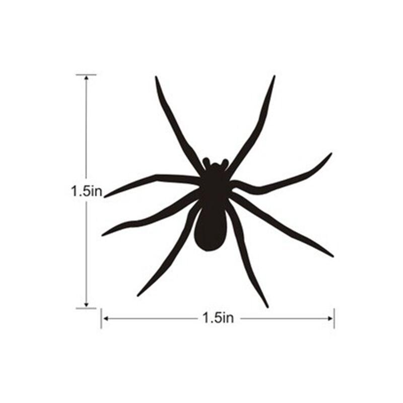 Mini Spiders Vinyl Decals 20 set Halloween spiders decals stickers ...