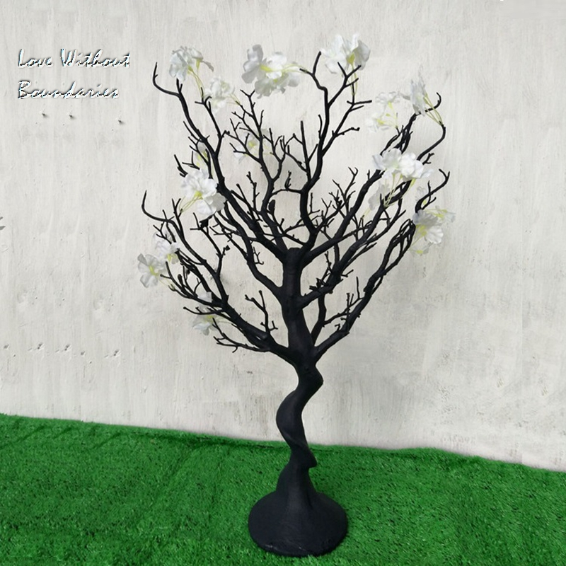 Simulation, white Christmas tree, Stem branch, Trunk, Environmental protection resin, 8 colors can choose - 4