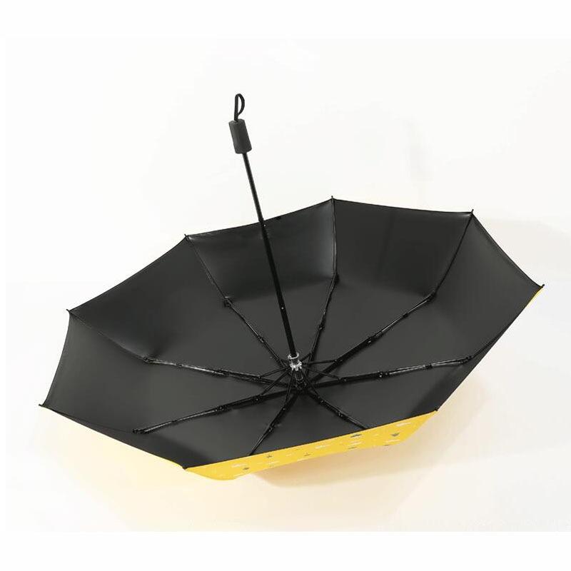 Three Folding Sunscreen Umbrella For Women Sunny Rainy Windproof Anti-UV Umbrella Women Lady Girls Folding Umbrellas (13)