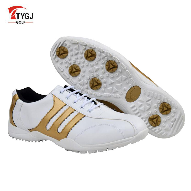 TTYGJ Golf Shoes Mens Scarpe Sneakers Men Primera Capa Hombre Deportiva Outdoor Mens Shoes Made of Genuine Leather Golf Shoes ...
