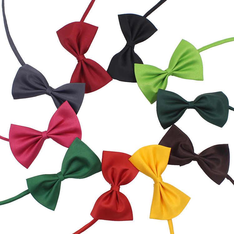 Christmas Holiday Collar Bow Tie ปรับสายคล้องคอสุนัข Grooming อุปกรณ์เสริมสำหรับสัตว์เลี้ยงอุปกรณ์
