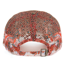 Colorful Flower With Rhinestone Cap
