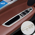 Interior Door Window Switch Button Cover Trim For BMW X5 E70 2009-2013 4pcs