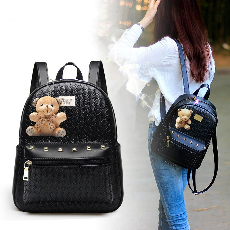Free Shipping 2018 New Shoulder Bag Korean Version Trend Backpacks College Students Wind Bags Fashion Handbags In From Luggage On