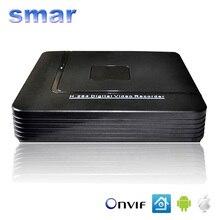 Mini DVR de 4 Canales 8 Canales CCTV AHD DVR AHD-M DVR Híbrido 1080 P Grabador de Vídeo NVR 3 in1 Para Cámara IP Cámara Analógica AHD cámara