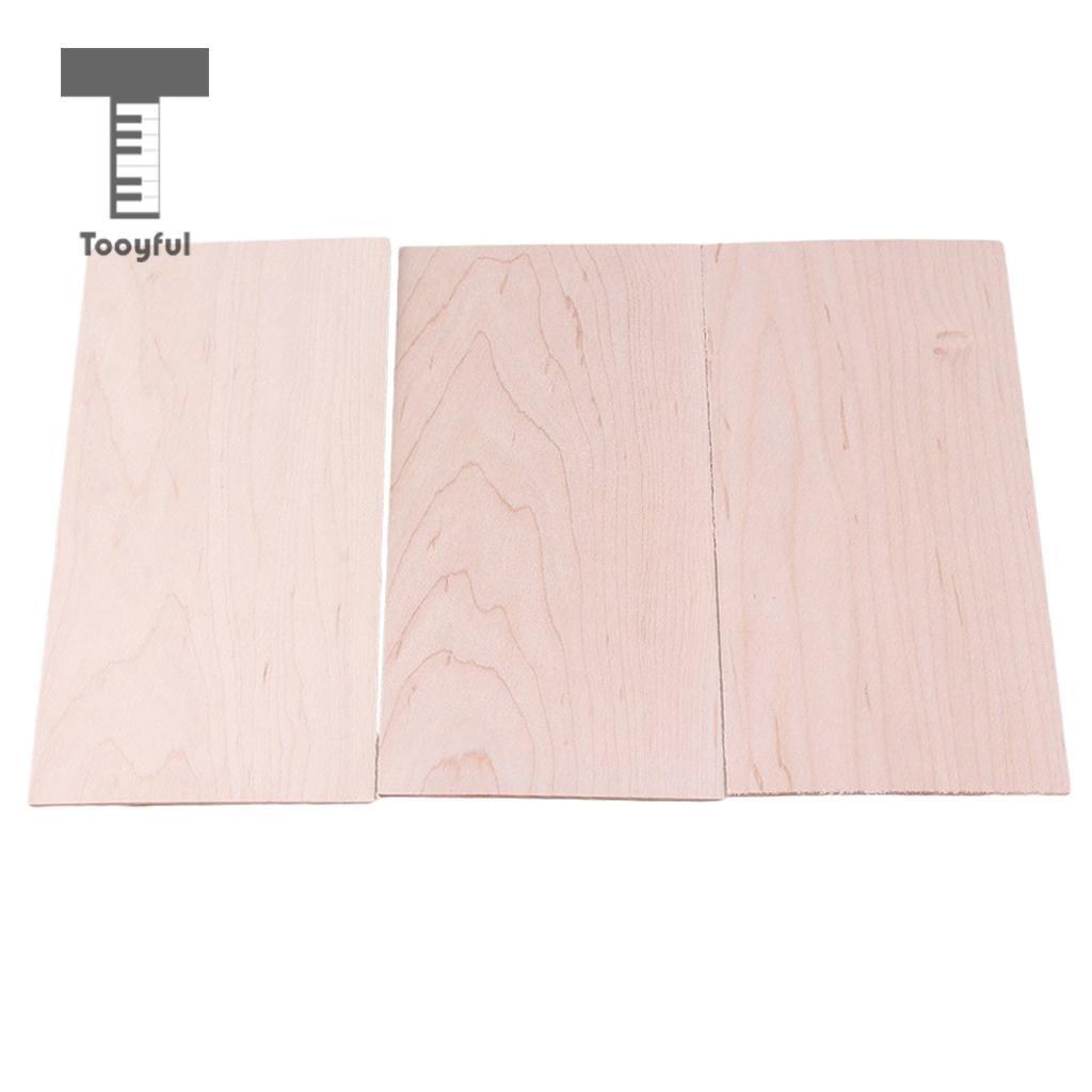Guitar Parts & Accessories Guitar Accessories 3pcs Guitar Parts Head Veneer Sapele Wood Headstock Luthier Tonewood Diy Tool Dropshipping