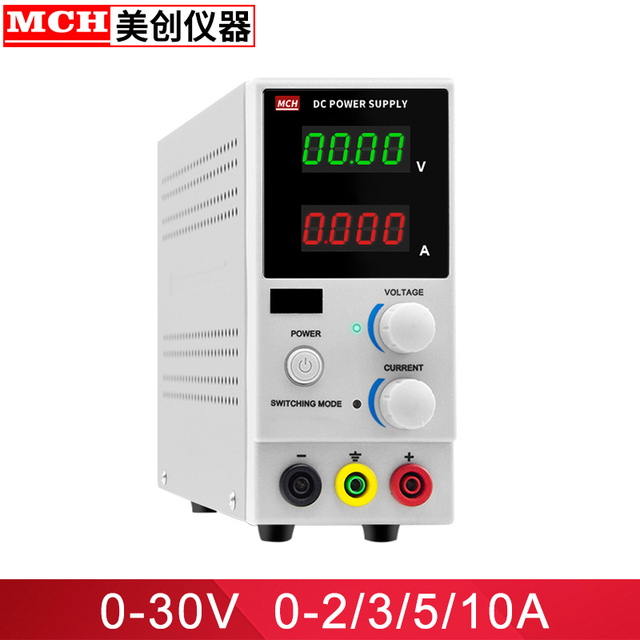 30V 2A 3A 5A 10A Adjustable Mini Switching DC Power Supply 110v/220v Digital Power Supply Benchtop Supply Power Source 110V 220V