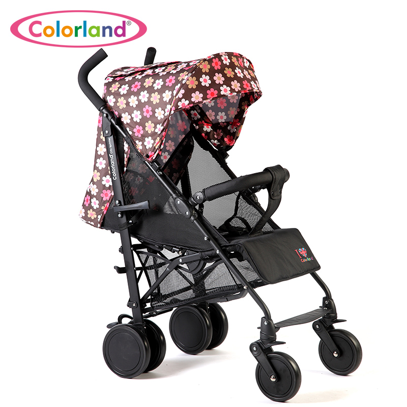 Infant stroller landscape switchable shock stroller wheel BB lay folded baby stroller 0-3 years