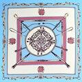 100% Silk Scarf Women Scarf Foulard Neckerchief Top Pure Silk Bandana Small Square Silk Scarf Luxury Lady Gift