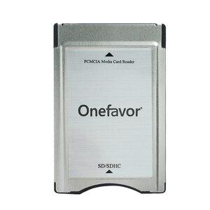 Image 1 - Высокое качество! Адаптер для SD карты onefavor, устройство для чтения карт памяти PCMCIA для Mercedes Benz MP3