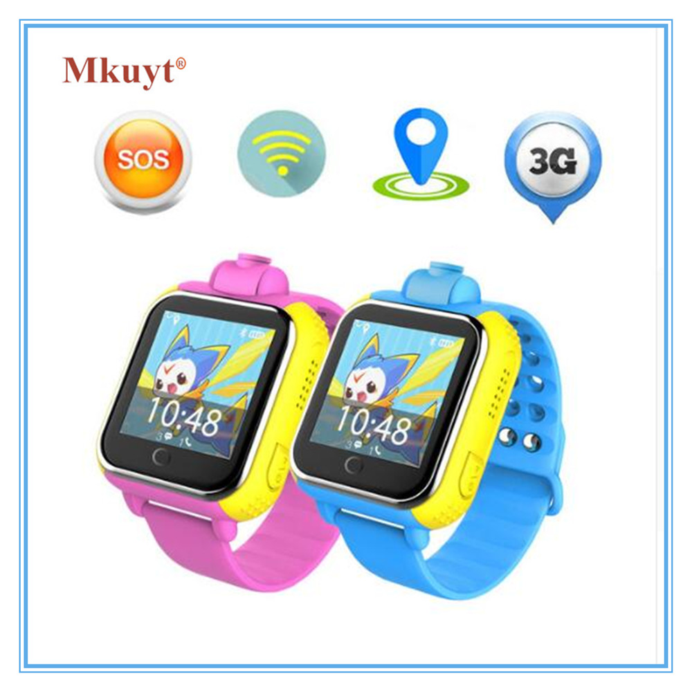 купить Q730 Kids 3G Smart Watch With Camera GSM GPRS WIFI GPS Locator Tracker and SIM Card Slot Wristwatch for Android IOS PK Q90 Q50 недорого