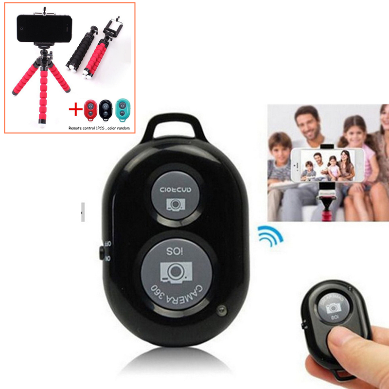 Wireless Bluetooth Remote Control Shutter Universal Remote for Tripod Selfie Stick for iPhone 8 Xiaomi IOS Andriod Phone ...