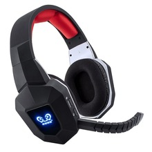 7.1 Wireless Headset 2.4Ghz Optical Noise Canceling Stereo Gaming Game Headphones for TV,PC,PS4,Xbox,with 7.1 Surround Sound