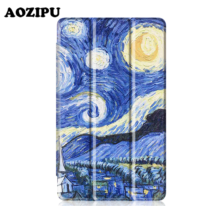 Luxury Print PU Leather Case for Lenovo Tab 3 8 Plus 8inch Tablet Stand Protective Cover for Lenovo P8 TB-8703F (Tab3 8 Plus) slim fit stand feature folio flip pu hybrid print case for lenovo tab 3 730f 730m 730x 7 inch