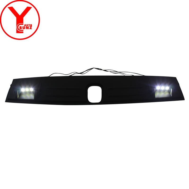 led roof cover light raptor For chevrolet trailblazer colorado 2016 2017 2018 LED Front Roof Spoiler Cover accessories YCSUNZ