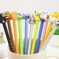40pcs Lot 0 5mm Creative Black Ink Gel Pen Office Gift Gel Pen Girlfriend Lovely Cute