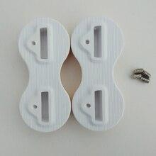 цена на Free Shipping 5 Sets of FCS Fusion Fin Plugs High Quality 9 Degree White FCS Fusion Fin Plugs