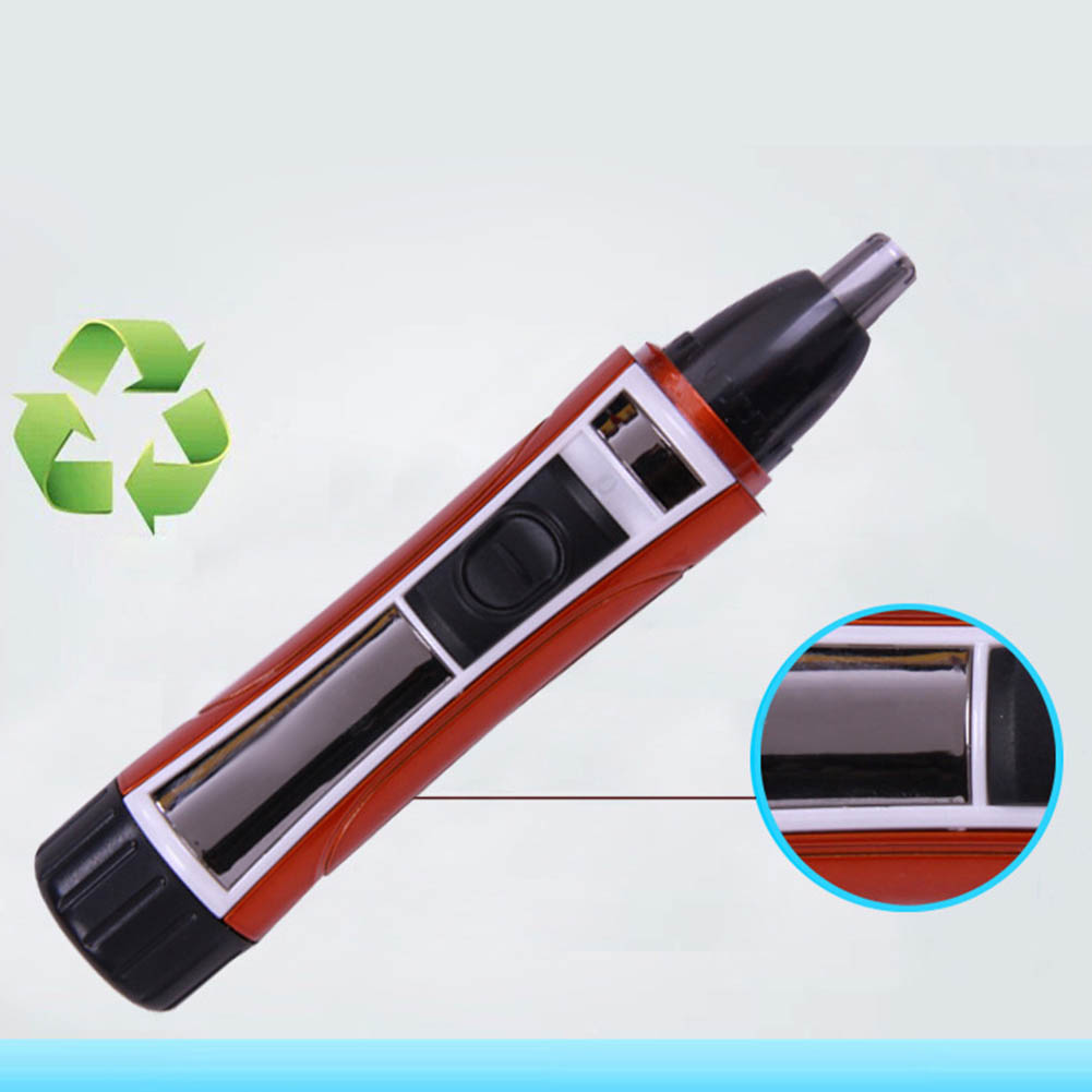Electric Nose Hair Trimmer Removal Washable Hair Trimmer Shaver Clipper Cleaner WH998 in Nose Ear Trimmer from Beauty Health