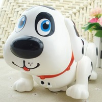 High Quality Intelligent Electronic Pet Toy Robot Dog Lovely Dogs Flashing Pets Kids Walking Puppy Action