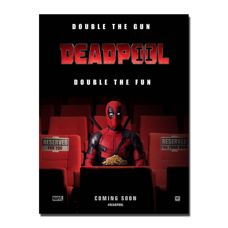 Deadpool 2 2018 Hot Movie Art Canvas Poster 12x18 24x36 inches