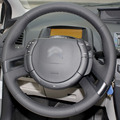 Black Artificial Leather DIY Hand-stitched Steering Wheel Cover for Citroen C4 Picasso 2012-2014 C-quatre