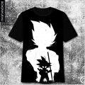 New Arrival Japan Anime Dragonball Z T Shirt Super Short Sleeve T-shirt Men Fashion cartoon tee  tops   DT004