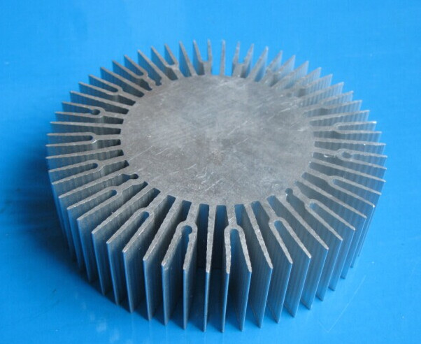 LED radiator 10-30W aluminum radiator Sunflower aluminum radiator diameter:110mm,solid 60mm,high 30mm ,not have hole  heatsink 5pcs lot pure copper broken groove memory mos radiator fin raspberry pi chip notebook radiator 14 14 4 0mm copper heatsink