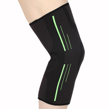 Gym Fitness Running Cycling Knee Support Braces Elastic Nylon Sport Compression Breathable Bandage Knee Pads Basketball Sleeve pressurized fitness running cycling knee support braces elastic nylon knee pads nylon silk sports protective gear knee pads back