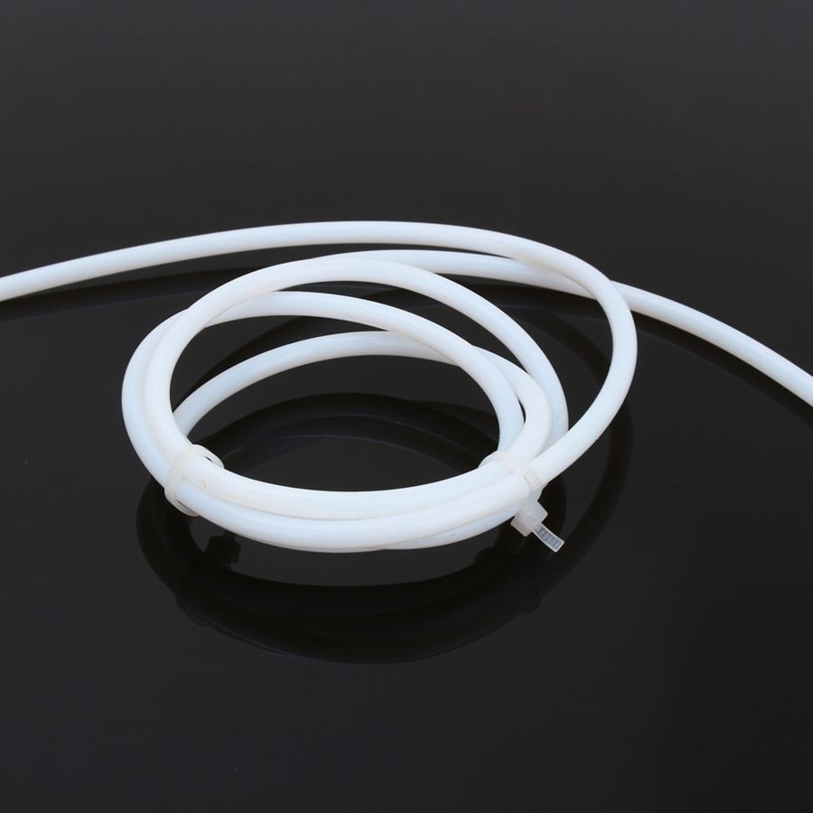 3D Printer Parts Extruder 2x4mm 1m Teflon PTFE Tubing pipe to J-head Hotend RepRap Rostock Bowden