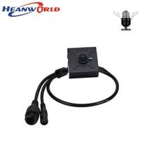 Heanworld Ip Camera Poe 1080P Mini Camera Indoor Met Microfoon Audio Hd Security Camera 3.7 Mm Lens P2P Ondersteuning ie Browser
