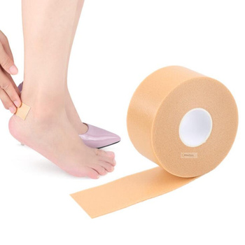 1 roll protect heel sticker high heels protection feet care stick tape soft insole shoes women stiletto heel protector