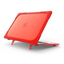 New Shockproof Laptop Cases for Macbook Air 13 Case Pro 13 Retina Touch Bar Hard Plastic Cover Foldable Stand Holder A1706 A1708 цена и фото